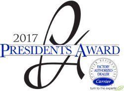 2017 Carrier President's Award Logo