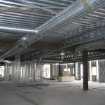 Another View of Ductwork During Construction