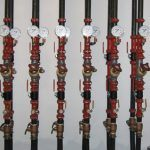 Riser Piping for the Six Vertical Geothermal Wells