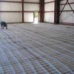 Hydronic In-floor Radiant Heating Installation