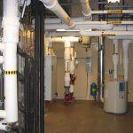 Lake Naomi Mechanical Room Inertia Base Pump