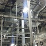 Forty-Two Inch Ductwork Installed at Niagara Bottling.