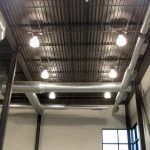 Installed ceiling ductwork at Metro Beauty Academy
